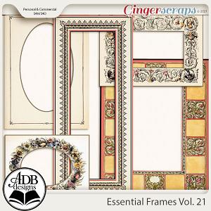 Essential Frames Vol 21 by ADB Designs