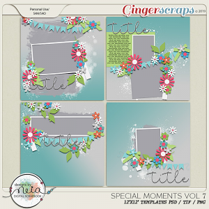 Special Moments- VOL.07 - Templates - by Neia Scraps