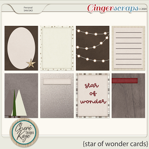 Star of Wonder Cards by Chere Kaye Designs