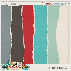 Rustic Charm Torn Papers by The Scrappy Kat