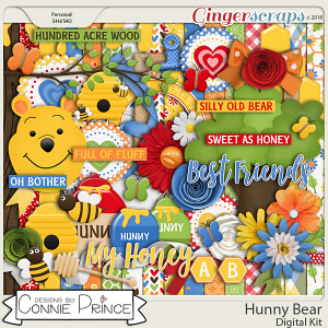 Hunny Bear - Kit by Connie Prince