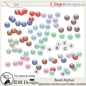 Heritage Resource Bead Alphas by ADB Designs