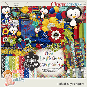 4th of July Penguins-Bundle