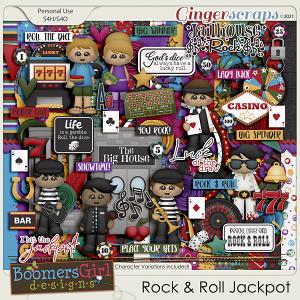 Rock & Roll Jackpot by BoomersGirl Designs