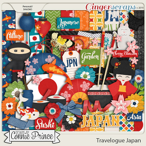 Travelogue Japan - Kit