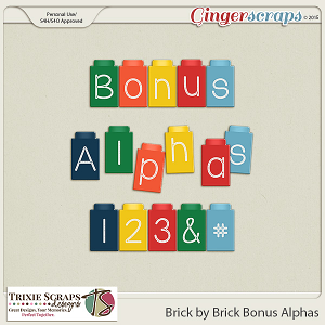 Brick by Brick Bonus Alphas by Trixie Scraps Designs