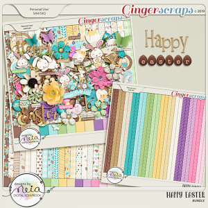 Happy Easter - Bundle - By Neia Scraps