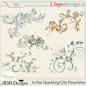 In The Sparkling City Flourishes by ADB Designs