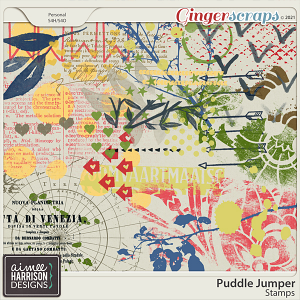 Puddle Jumper Stamps by Aimee Harrison