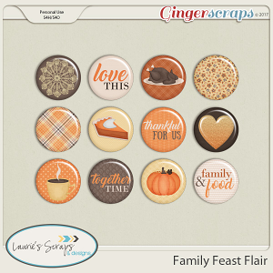 Family Feast Flairs