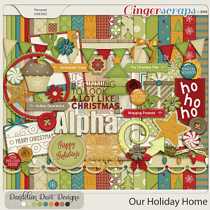 Our Holiday Home By Dandelion Dust Designs