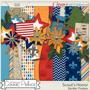 Scout's Honor - Border Clusters by Connie Prince