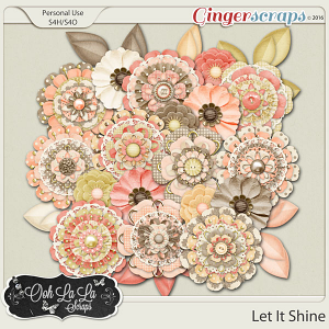 Let It Shine Layered Flowers