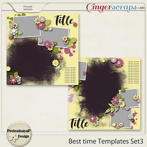 Best time Templates Set3