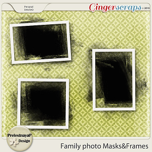 Family photo Masks&Frames