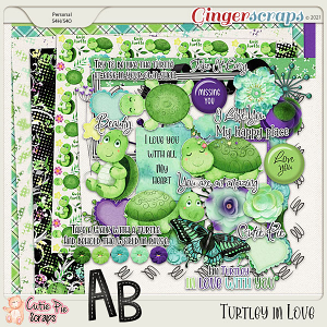 Turtley in Love - Page Kit