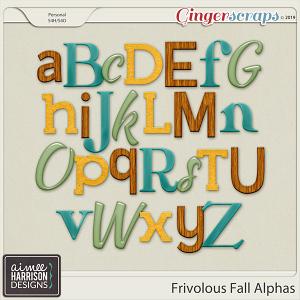 Frivolous Fall Alpha Sets by Aimee Harrison