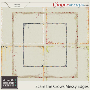 Scare the Crows Messy Edges by Aimee Harrison