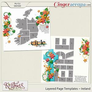 Layered Page Templates ~ Ireland