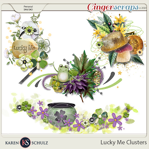 Lucky Me Clusters by Karen Schulz
