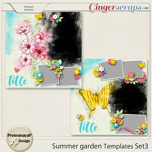 Summer garden Templates Set3