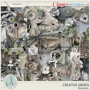 Creative Minds Elements by Ilonka's Designs