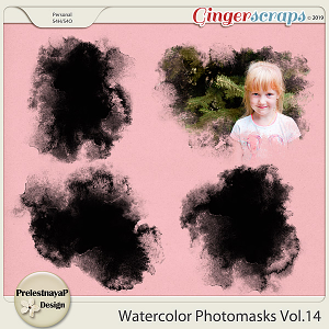 Watercolor photomasks Vol.14