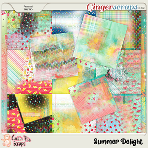 Summer Delight Messy Papers