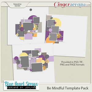 Be Mindful Template Pack
