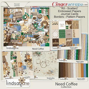 Need Coffee Collection by Lindsay Jane
