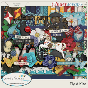 Fly a Kite Page Kit
