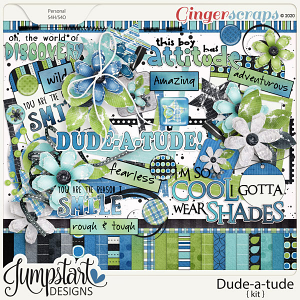 Dude-a-tude {Kit} by Jumpstart Designs