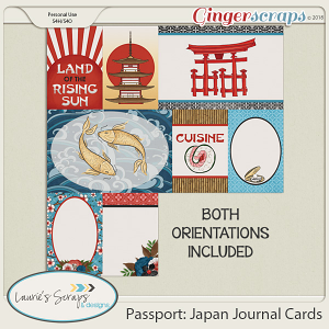 Passport: Japan Journal Cards