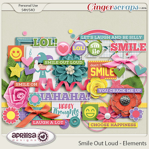 Smile Out Loud - Elements by Aprilisa Designs