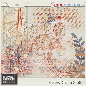 Bakers Dozen Graffiti by Aimee Harrison