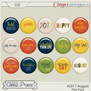 #2017 August - Flair Pack