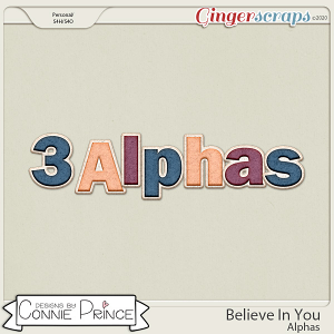 Believe In You - Alpha Pack AddOn by Connie Prince