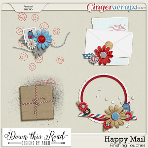 Happy Mail Finishing Touches