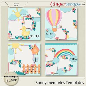 Sunny memories Templates