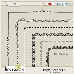 Page Borders 44 by Lindsay Jane