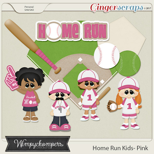 Home Run Kids- Pink