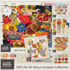 360°Life All About October Collection by Aimee Harrison