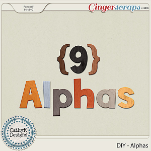 DIY - Alphas by CathyK Designs