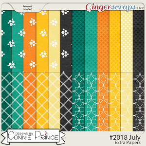 #2018 July - Extra Papers by Connie Prince