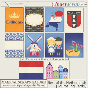 Best of the Netherlands (journaling cards)