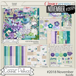 #2018 November - Bundle Collection by Connie Prince
