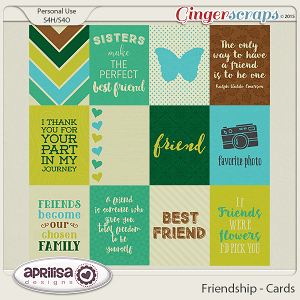 Friendship - Cards