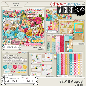 #2018 August - Bundle Collection by Connie Prince