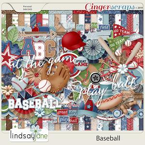 Baseball by Lindsay Jane