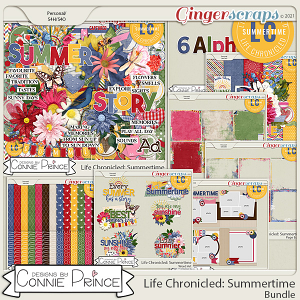 Life Chronicled: Summertime - Bundle by Connie Prince